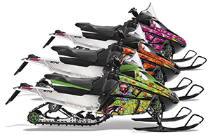 Arctic Cat F Z1 Series Sled Custom Graphic Kit - All Years