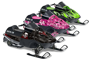 Arctic Cat 120 Sno Pro Youth Sled Custom Graphic Kit - All Years