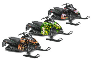 Arctic Cat ProCross Sno Pro Sled Custom Graphic Kit - 2012-2016