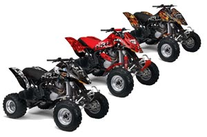 Can Am Bombardier DS650 ATV Custom Graphic Kit - 2006-2016