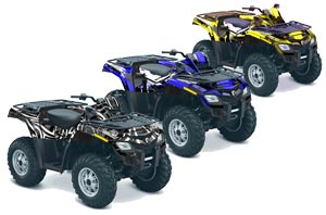 Can Am Outlander EFI 500 / 650 ATV Custom Graphic Kit - 2012-2015