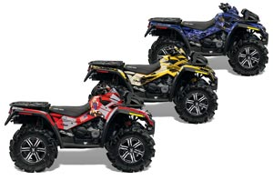Can Am Outlander XMR 800R ATV Custom Graphic Kit - 2006-2012
