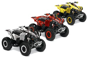 Can Am Renegade 500x/r / 800x/r ATV Custom Graphic Kit - All Years