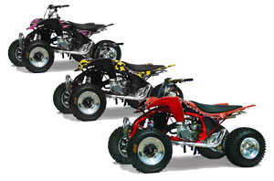 Cobra ECX 50 / 70 / 80 ATV Custom Graphic Kit - All Years