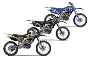 Yamaha YZ250 F 4 Stroke Dirt Bike Custom Graphic Kit - 2010-2013